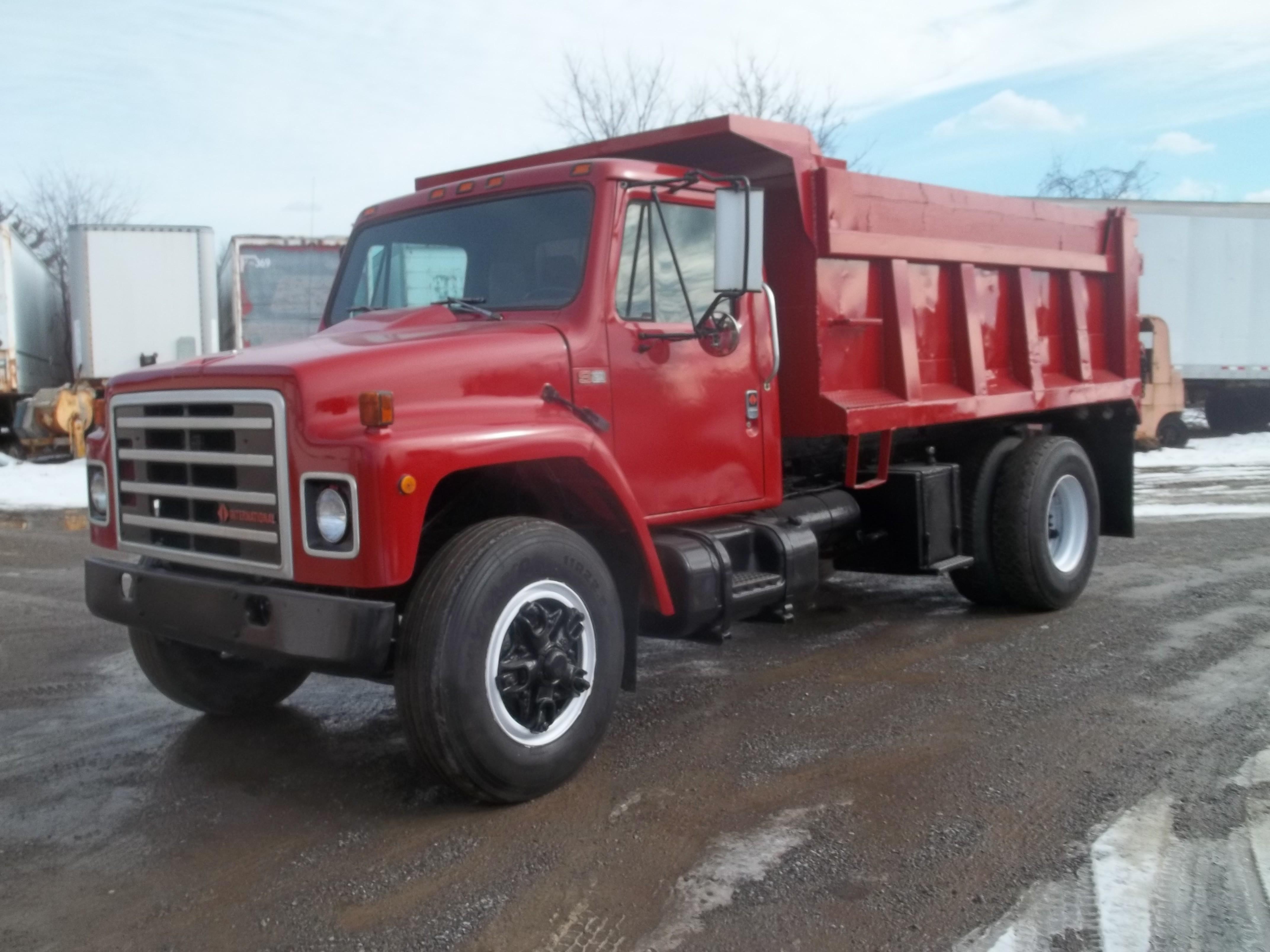 Used, 1989, International, 1900, Dump Trucks