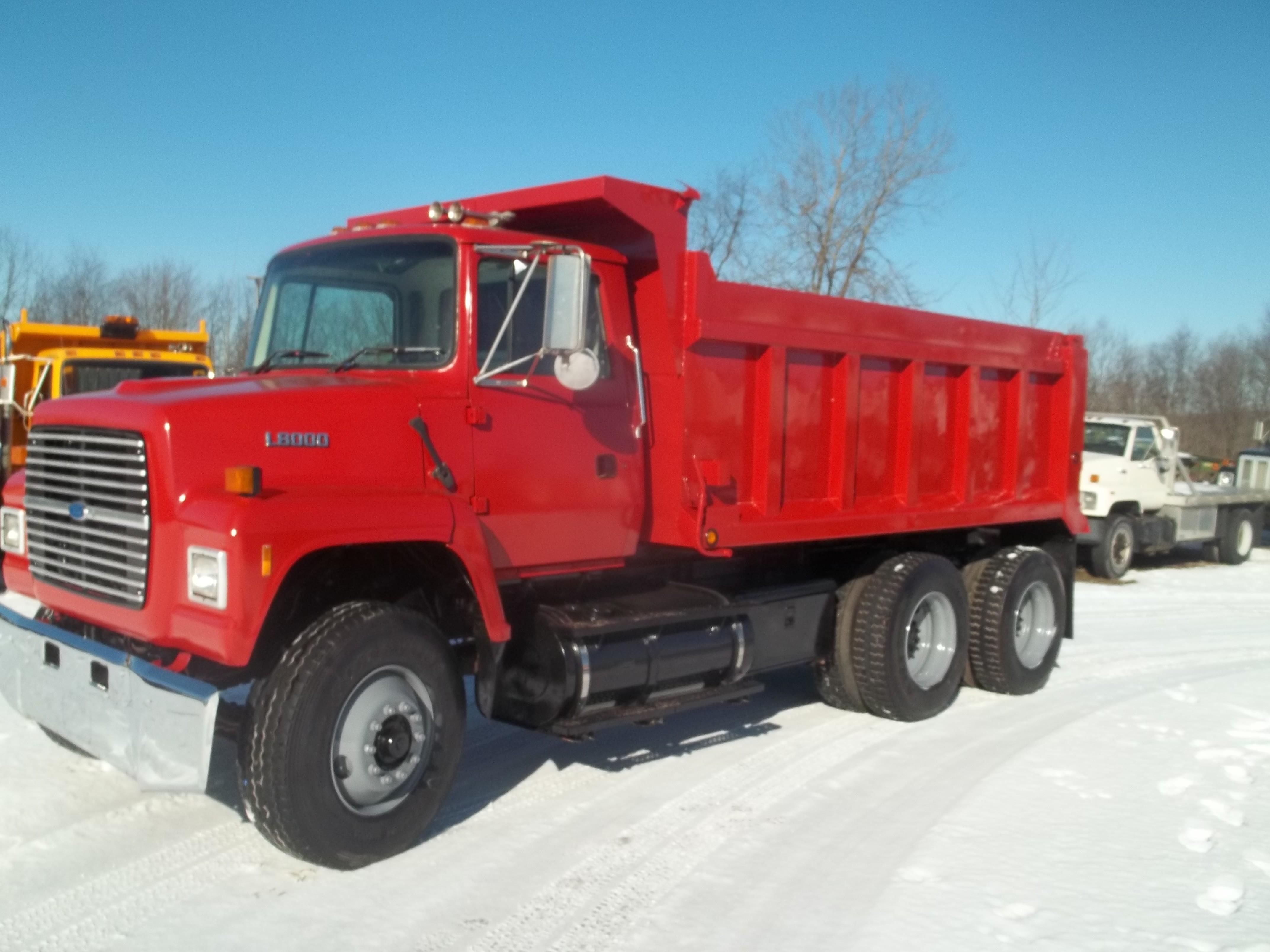 Used, 1996, Ford, L8000, Dump Trucks