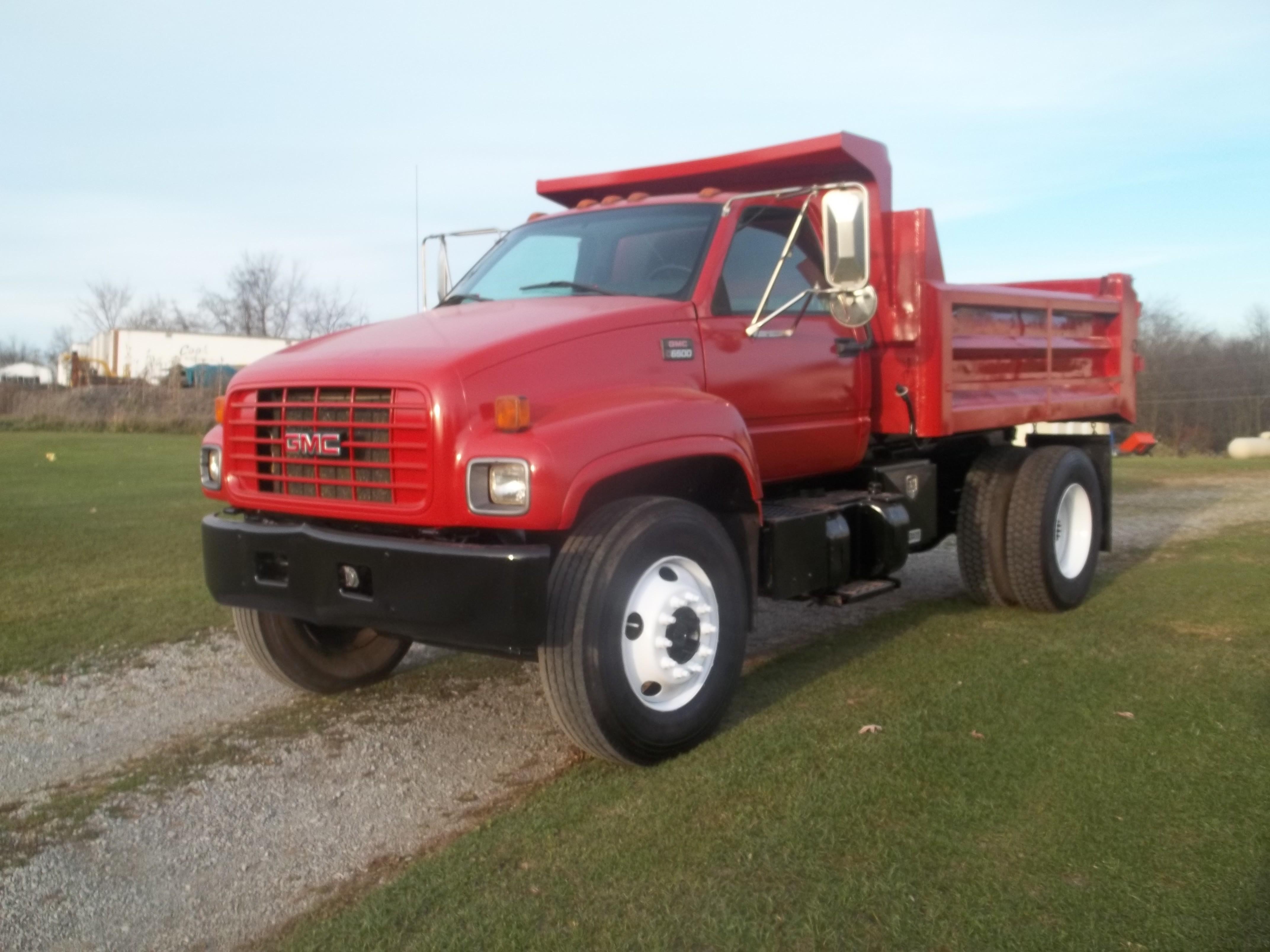 Used, 2000, GMC, 6500, Dump Trucks