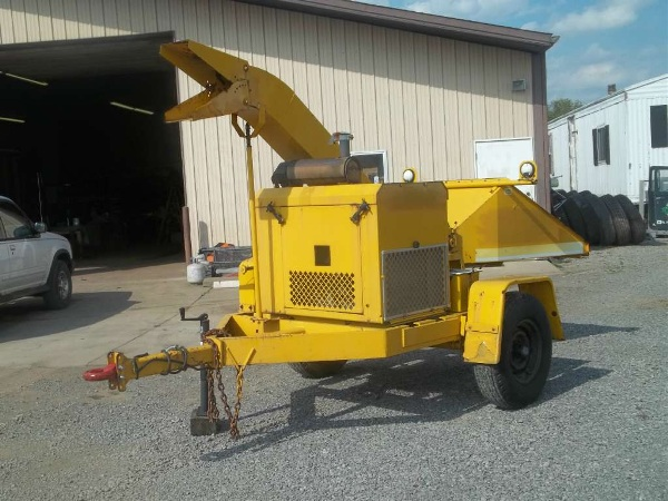 Used, 2000, Other, 12 inch DRUM CHIPPER, Chippers / Shredders
