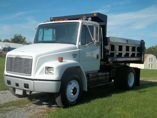 Used, 2002, Freightliner, FL 80, Dump Trucks