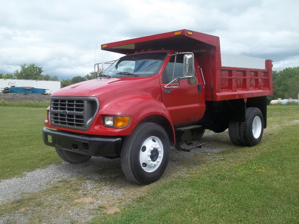 Used, 2000, Ford, F650, Dump Trucks