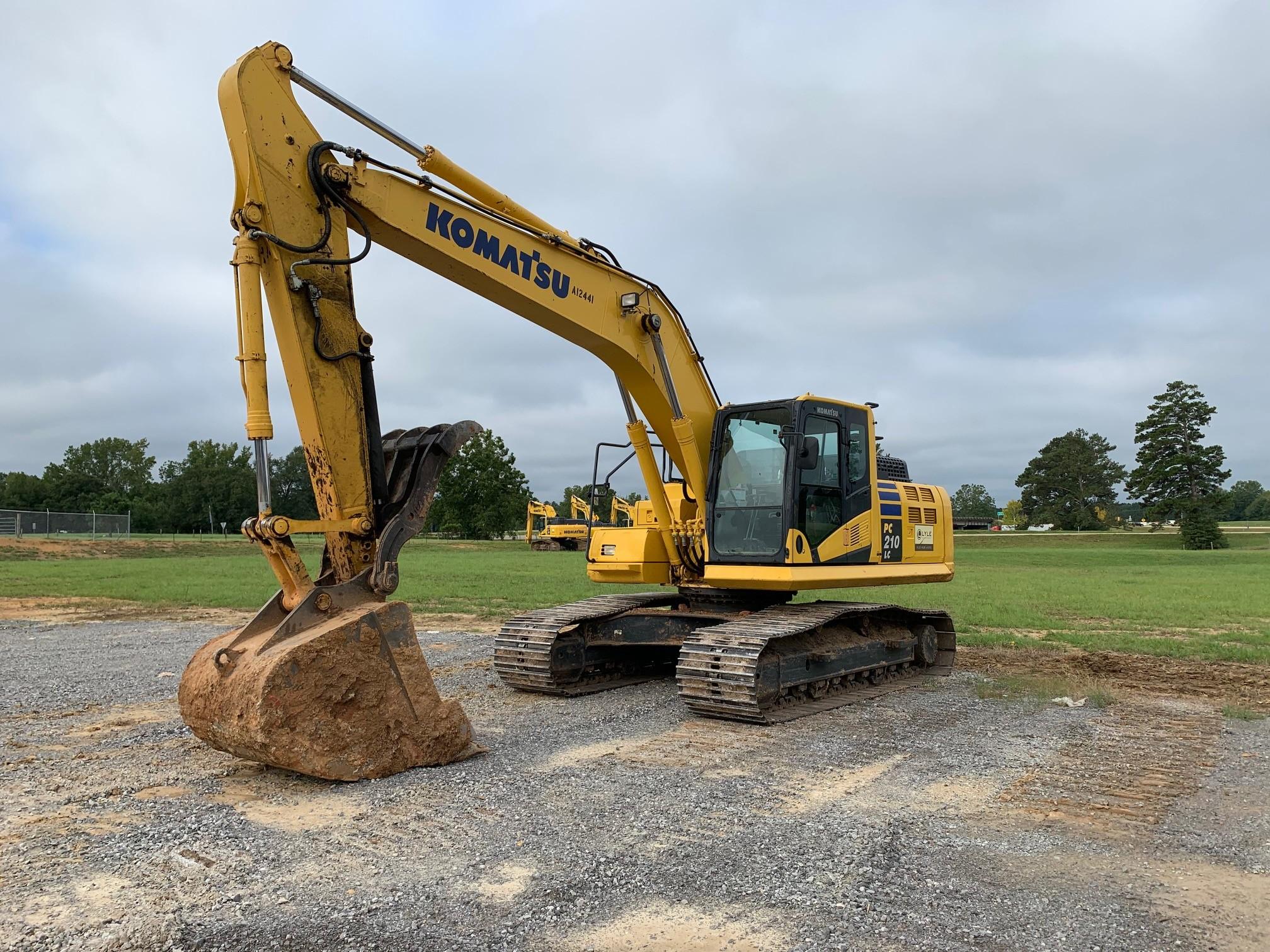 Used, 2018, Komatsu, PC210LC-11, Excavators
