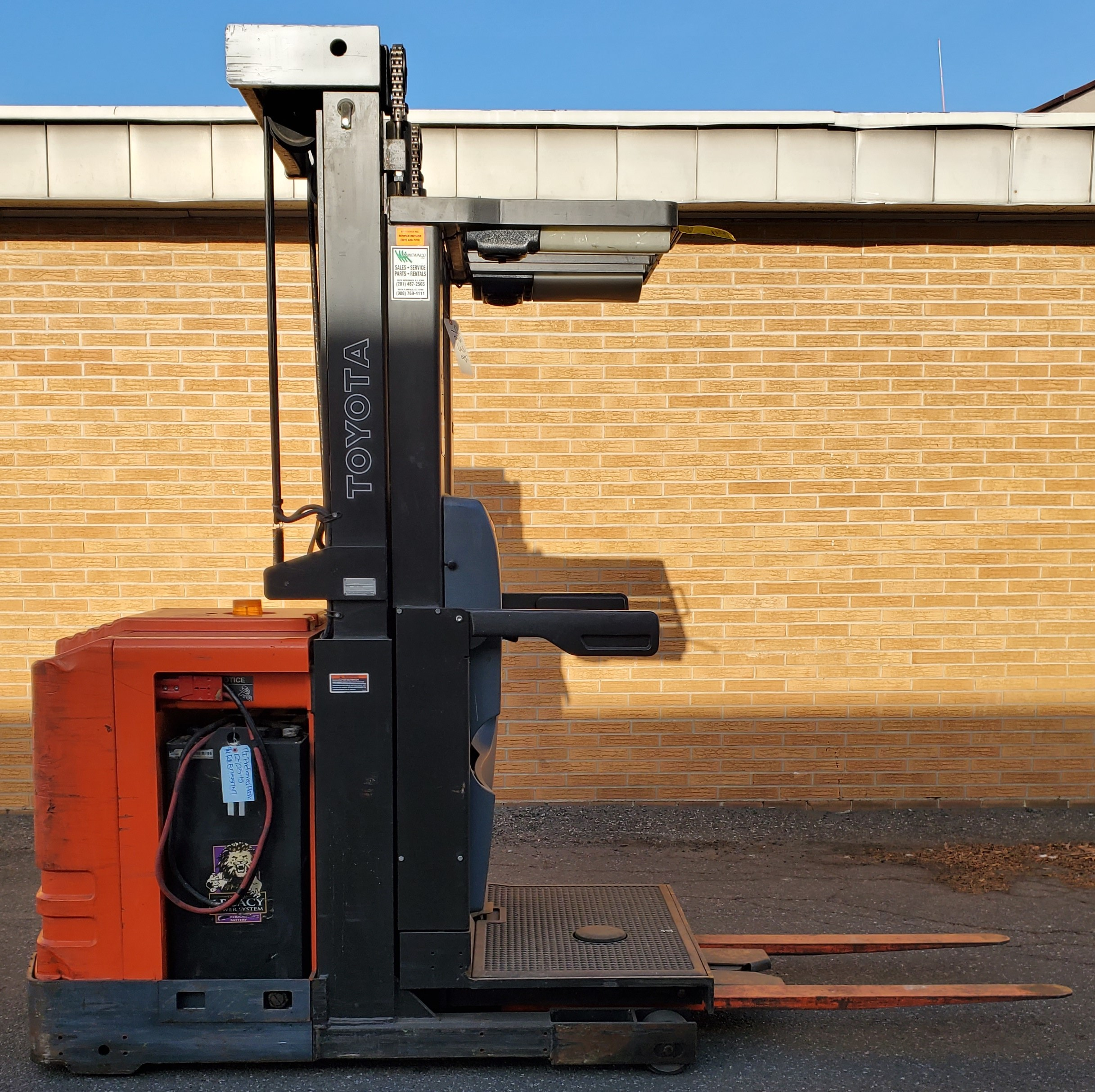 Used, 2012, Toyota Industrial Equipment, 7BPUE15, Forklifts / Lift Trucks