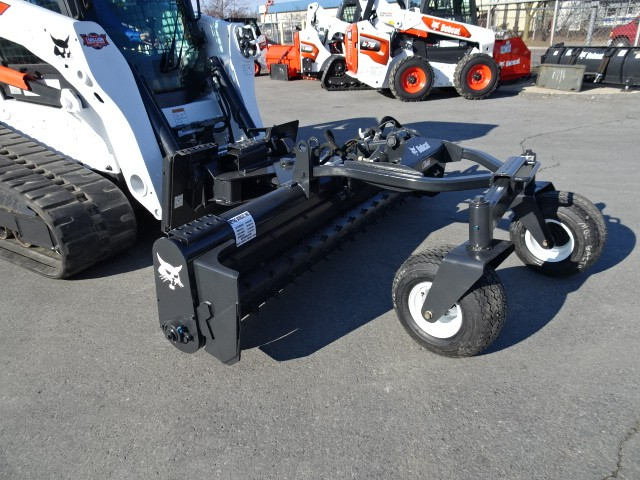 "Used, 2017, Bobcat, 2017 BOBCAT 84"" SOIL CONDITIONER ATTACHMENT - BOTH FLOAT AND LOCK POSITION - HYDRAULIC DEPTH ADJUSTMENT - HYDRAULIC ANGLE ADJUSTMENT, Loader Attachments"