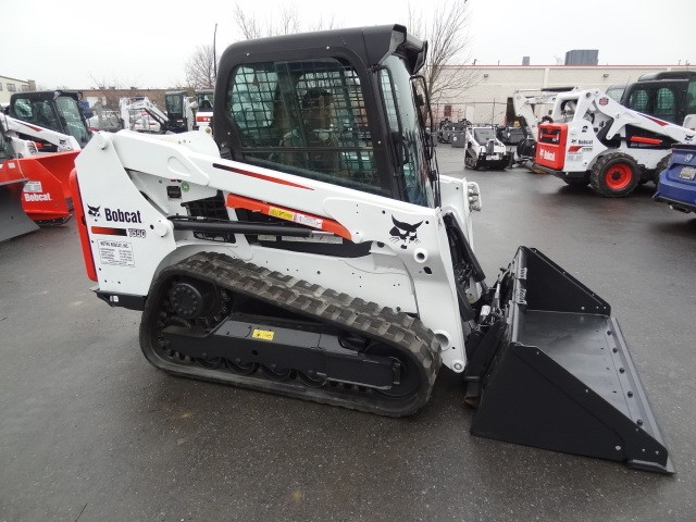 Used, 2015, Bobcat, T550 Track Loader, Heat & AC, A71 Package, Excellent Condition, 1798 Hours, Skid Steers