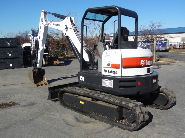 Used, 2018, Bobcat, E50 Compact Excavator, Only 500 Hours, Long Arm, Full Coverage Warranty, Hyd. X-Change, Excellent Condition, Excavators