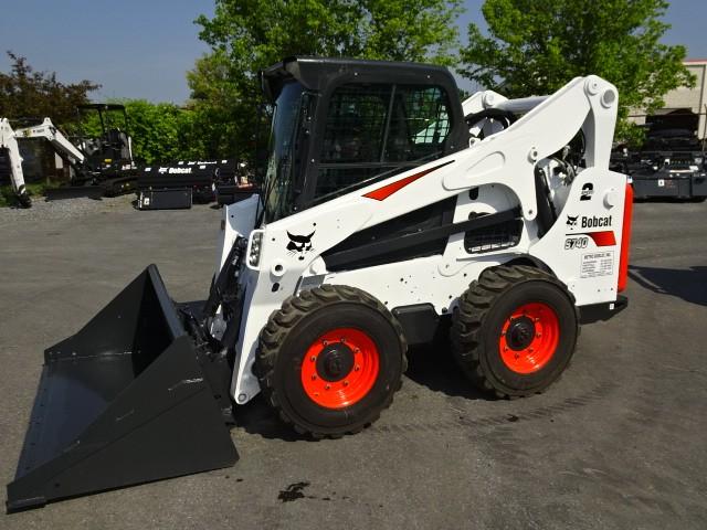 Used, 2017, Bobcat, S740 Skid-Steer Loader - A91 HIGHFLOW HYD PACKAGE - 12x16.5 Heavy Duty Flotation Tires - 74 HP Turbo-Charged Bobcat Diesel Engine (Tier 4) - 2 SPEED W/STANDARD CONTROLS, Skid Steers