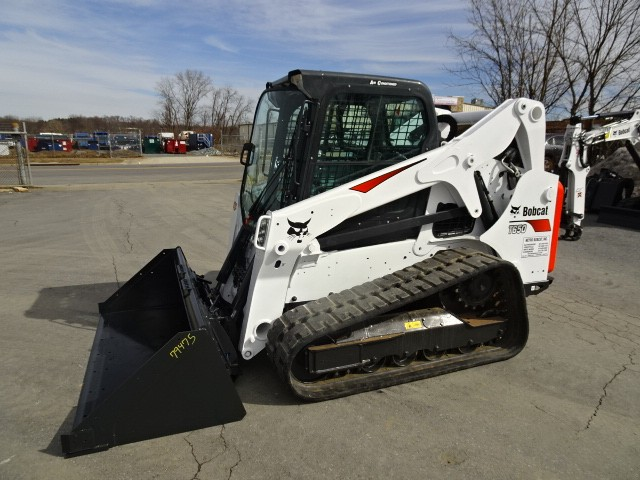 Used, 2019, Bobcat, Used 2019 Bobcat T650 Track Loader 74 HP Turbo Charged Bobcat Diesel Engine (Tier 4) - Sound Reduction Cab - Deluxe Instrumentation with Keyless Start, Loaders
