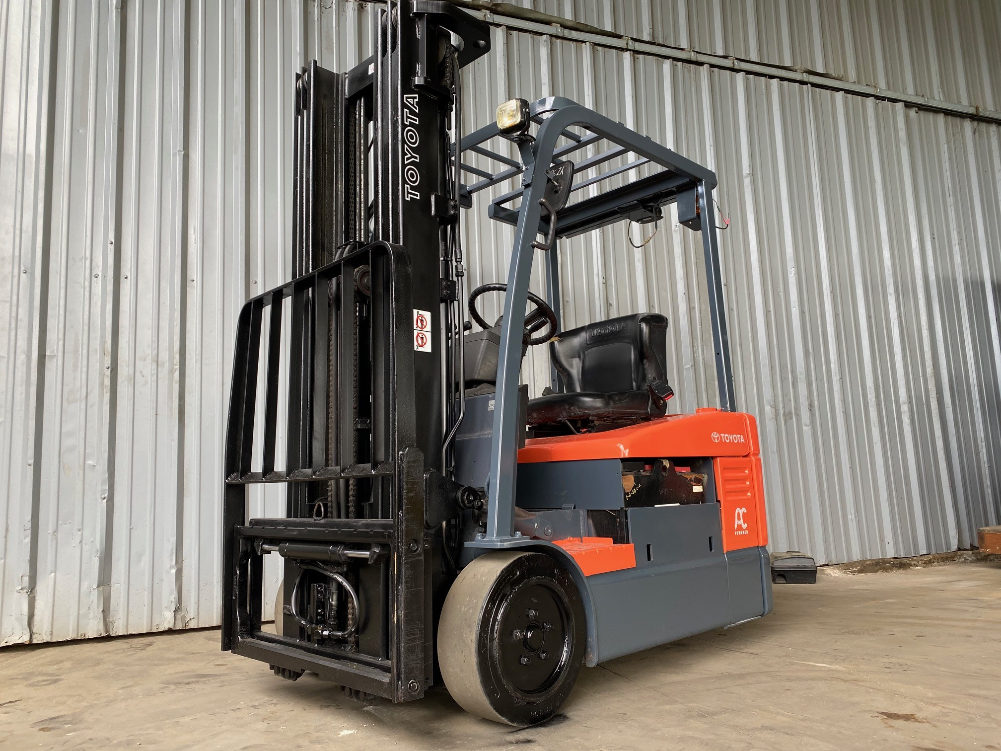Used, 2009, Toyota Industrial Equipment, 7FBEU15, Forklifts / Lift Trucks