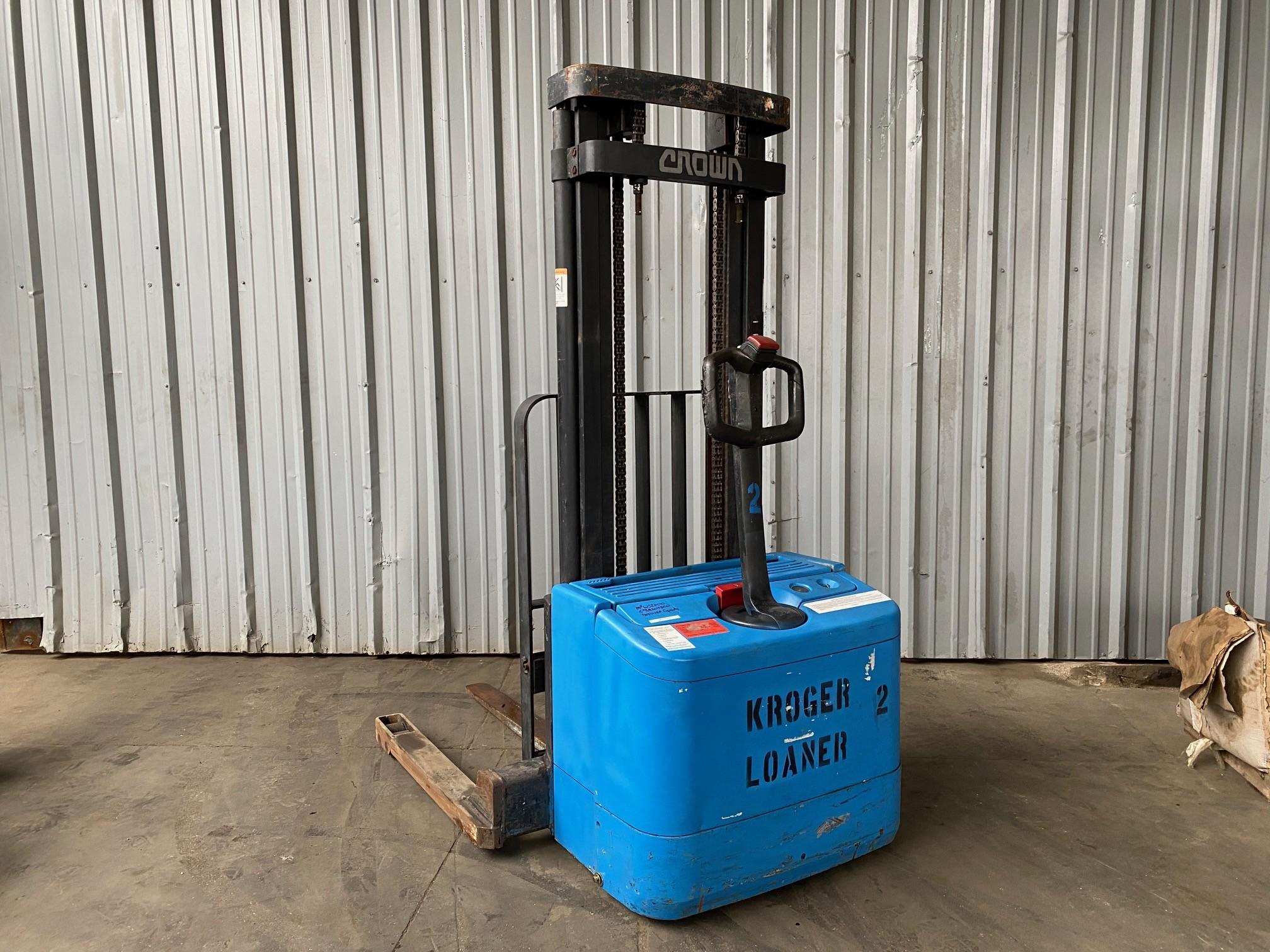 Used, 2000, Crown, WS2000-40TL, Forklifts / Lift Trucks