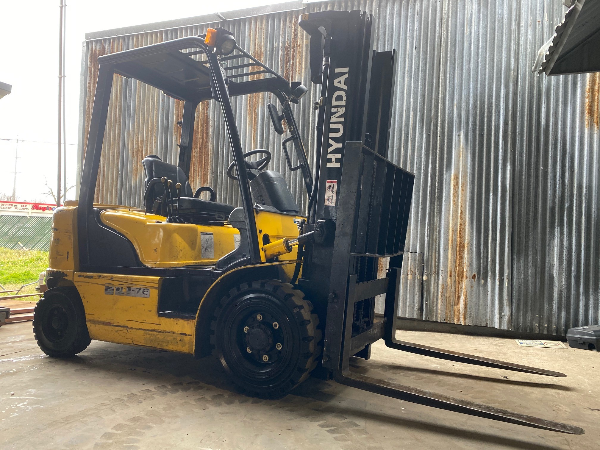 Used, 2010, Hyundai, 20D-7E, Forklifts / Lift Trucks