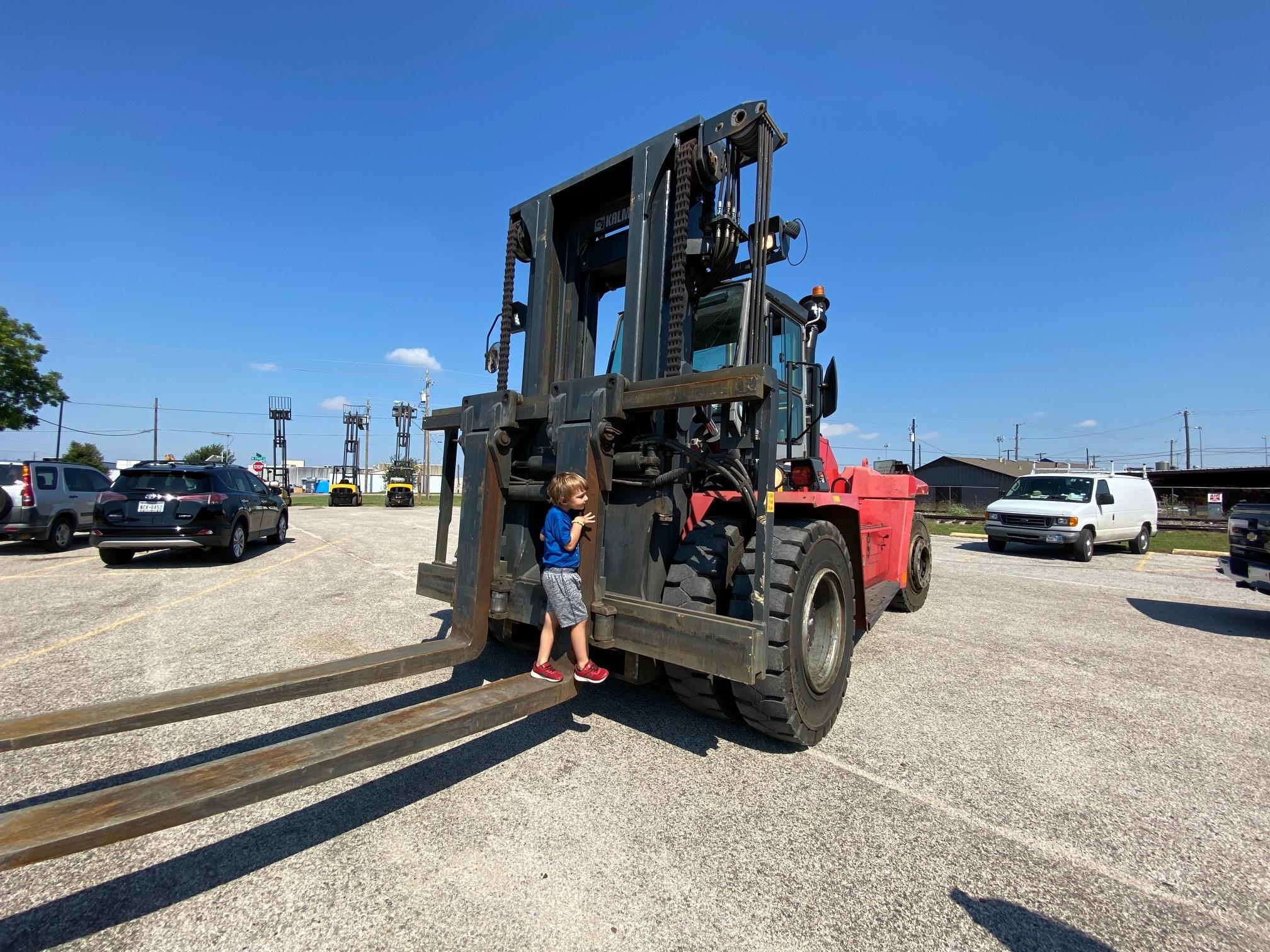 Used, 2015, Kalmar, DCF250-12LB, Forklifts / Lift Trucks