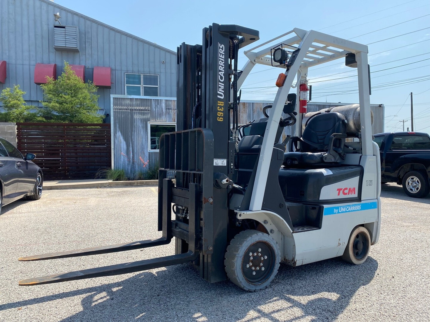 Used, 2015, UniCarriers, FCG15L-A1, Forklifts / Lift Trucks