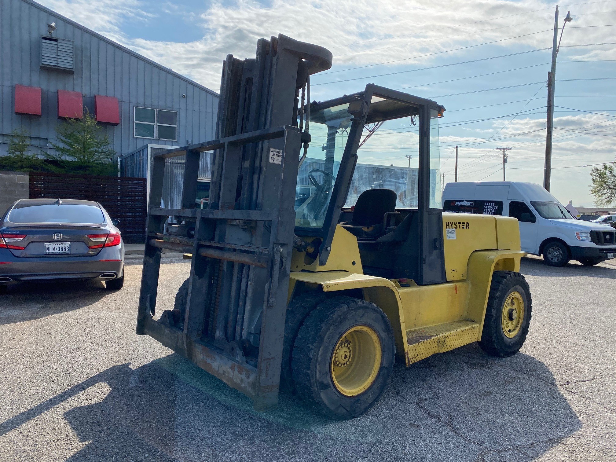Used, 1998, Hyster, H155XL, Forklifts / Lift Trucks