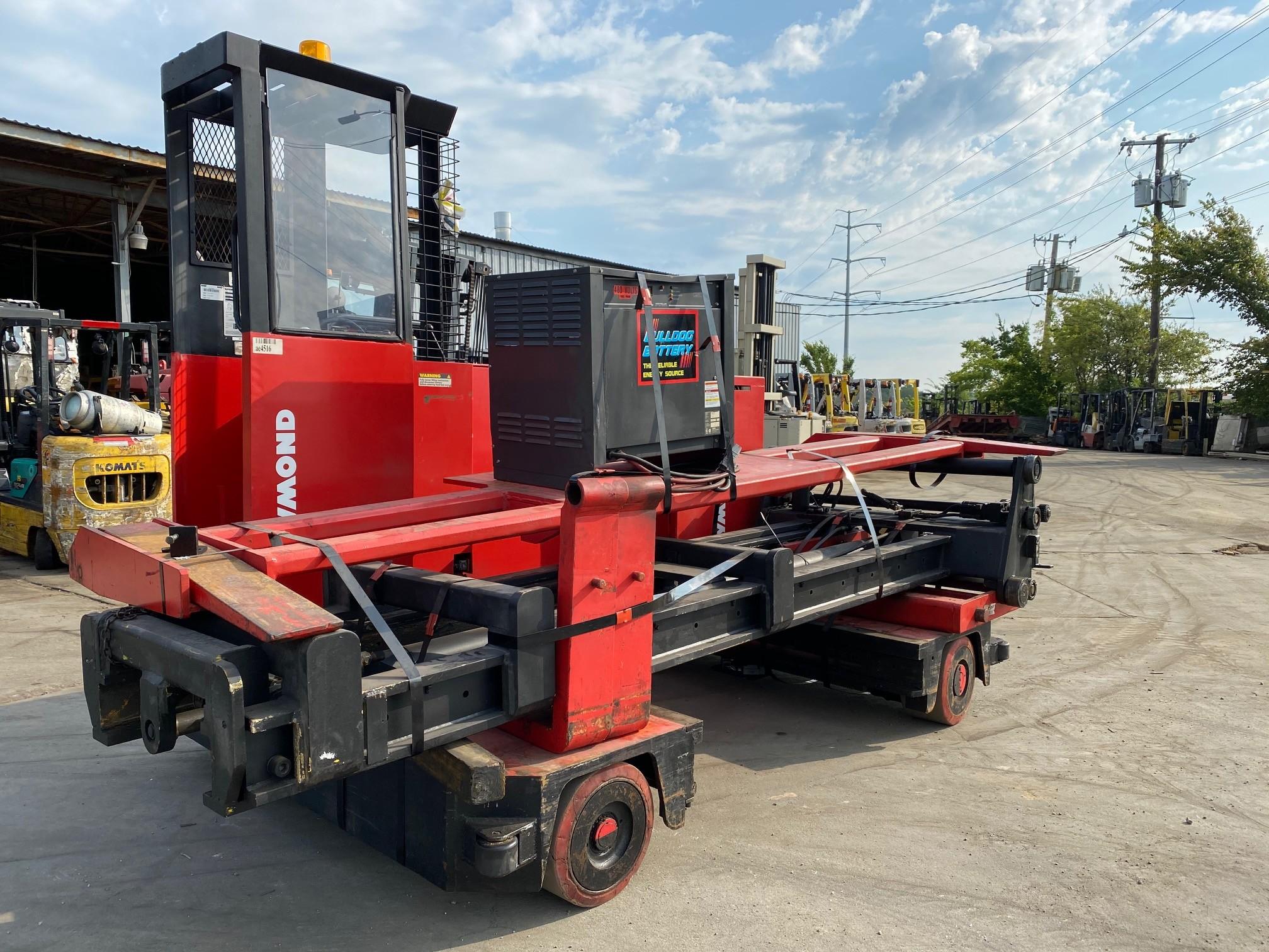 Used, 1985, Raymond, 76-SL100TF, Forklifts / Lift Trucks