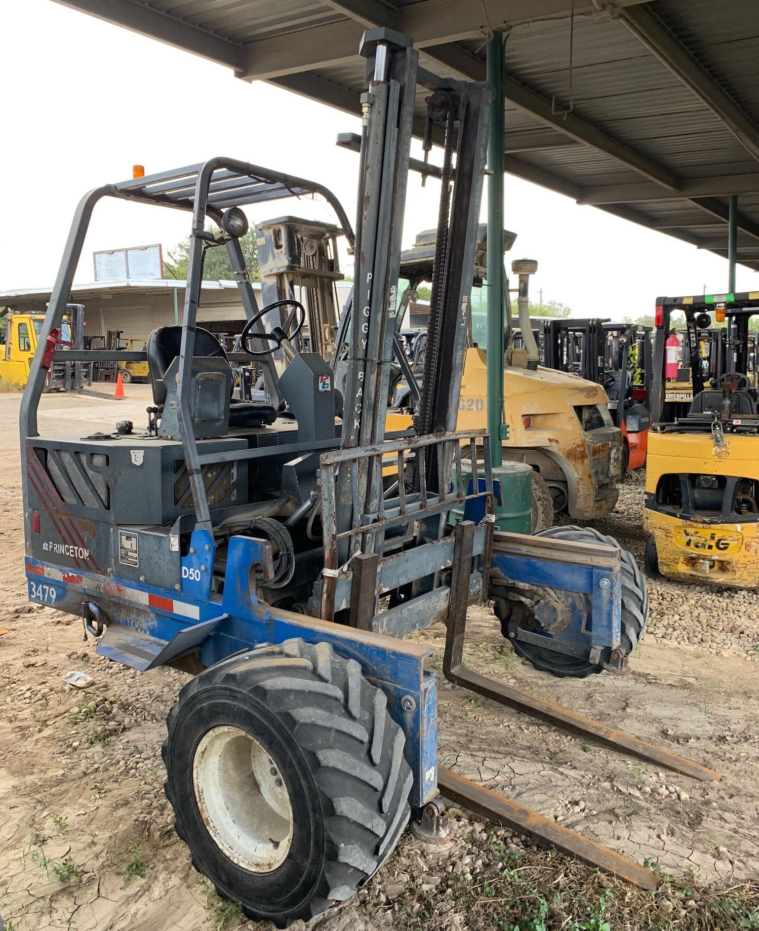 Used, 2001, Princeton, D50, Forklifts / Lift Trucks