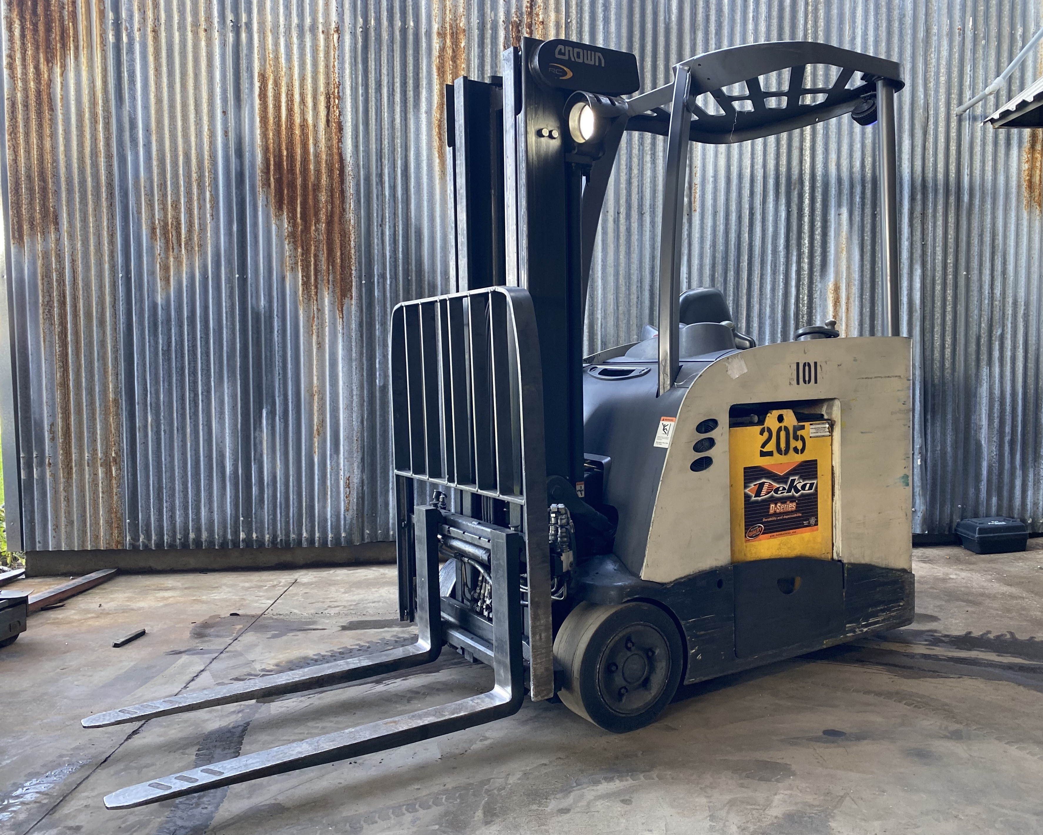 Used, 2012, Crown, RC5545-40, Forklifts / Lift Trucks