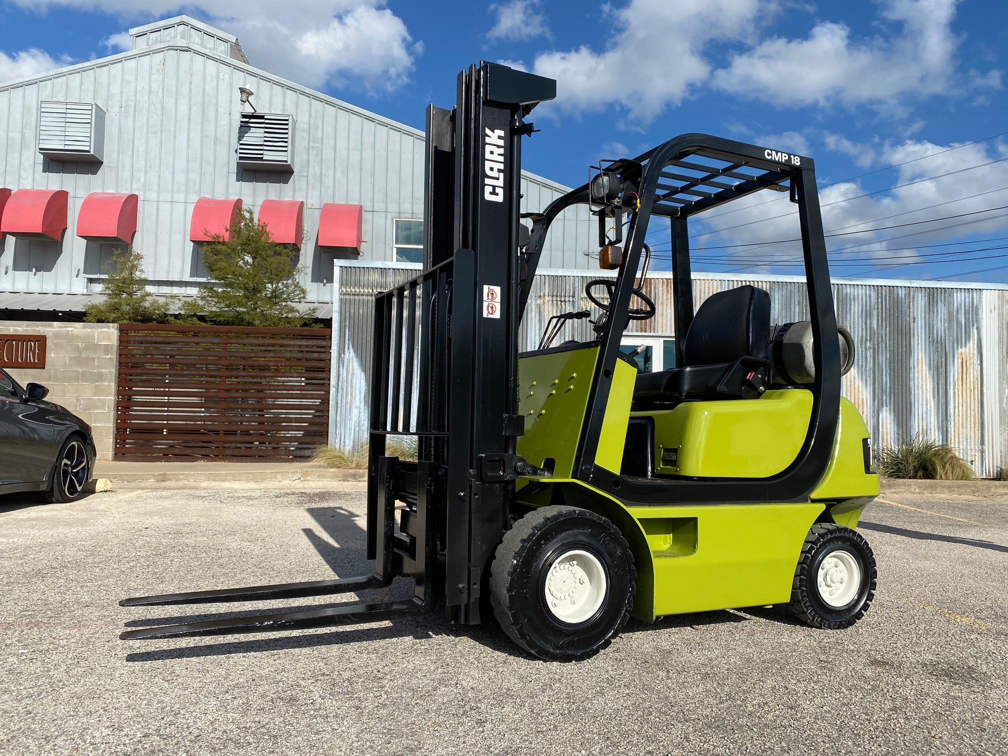Used, 2004, CLARK, CMP18, Forklifts / Lift Trucks