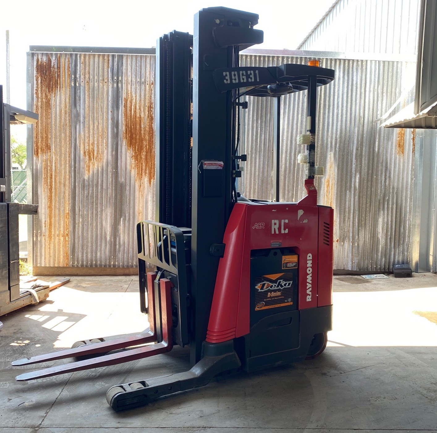 Used, 2013, Raymond, 750-R45TT, Forklifts / Lift Trucks