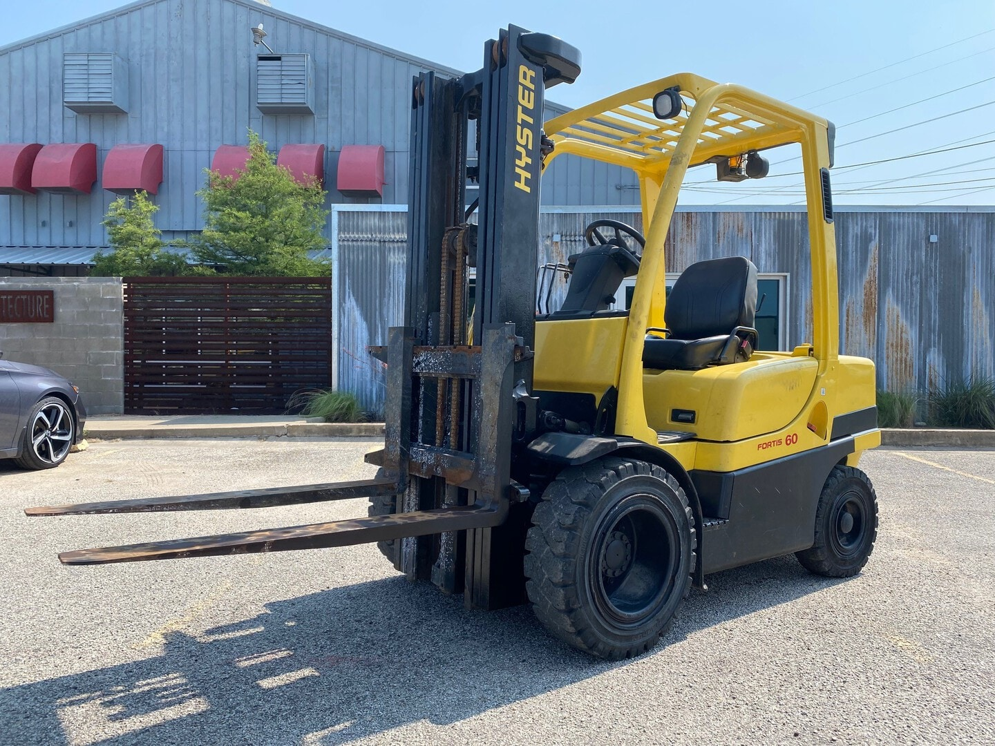 Used, 2006, Hyster, H60FT, Forklifts / Lift Trucks