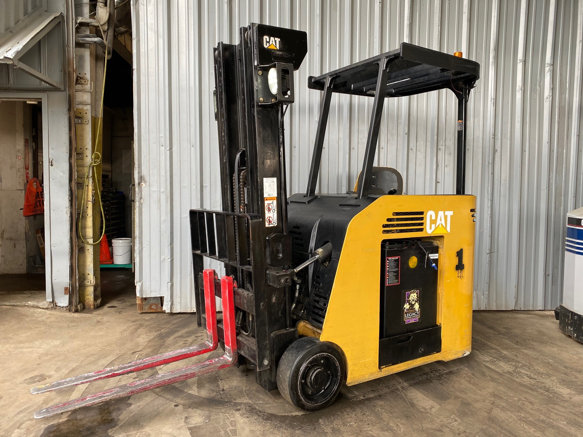 Used, 2008, CAT Lift Trucks, ES5000-36V, Forklifts / Lift Trucks