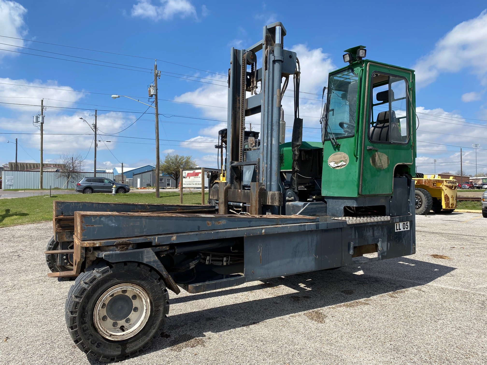 Used, 2016, Combilift, C20000, Forklifts / Lift Trucks