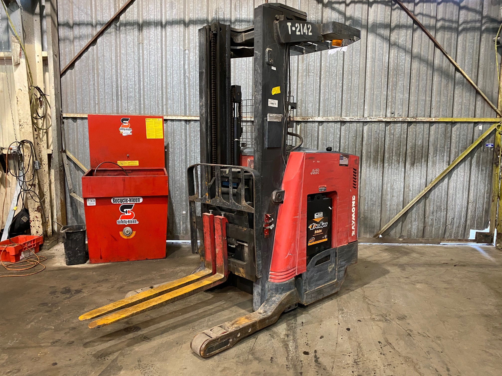 Used, 2010, Raymond, 740 R45TT, Forklifts / Lift Trucks