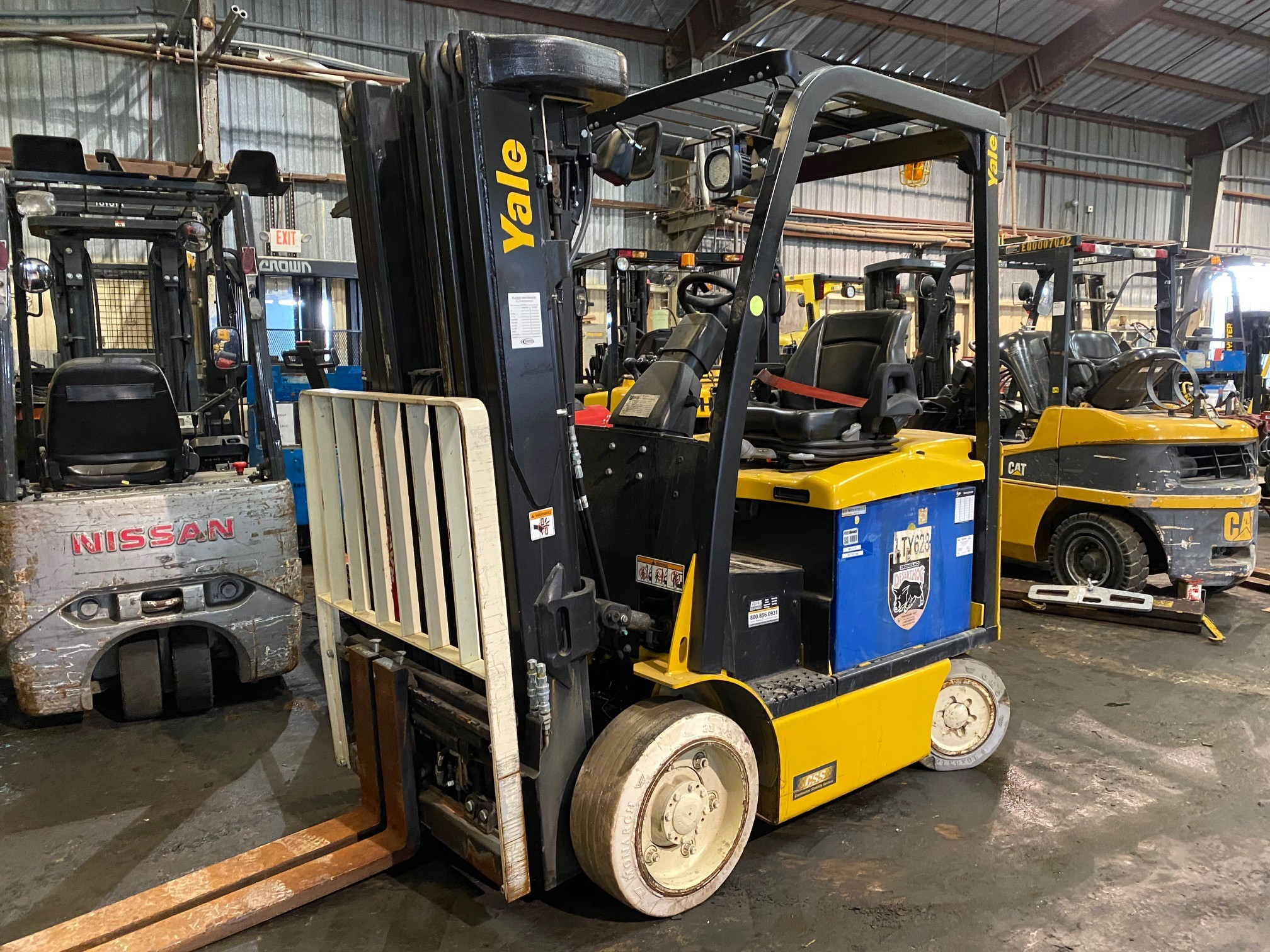 Used, 2013, Yale, ERC050VG, Forklifts / Lift Trucks