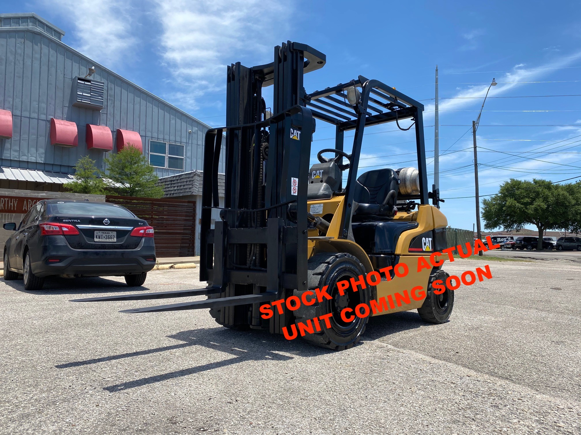 Used, 2007, CAT Lift Trucks, P6000-LPS, Forklifts / Lift Trucks
