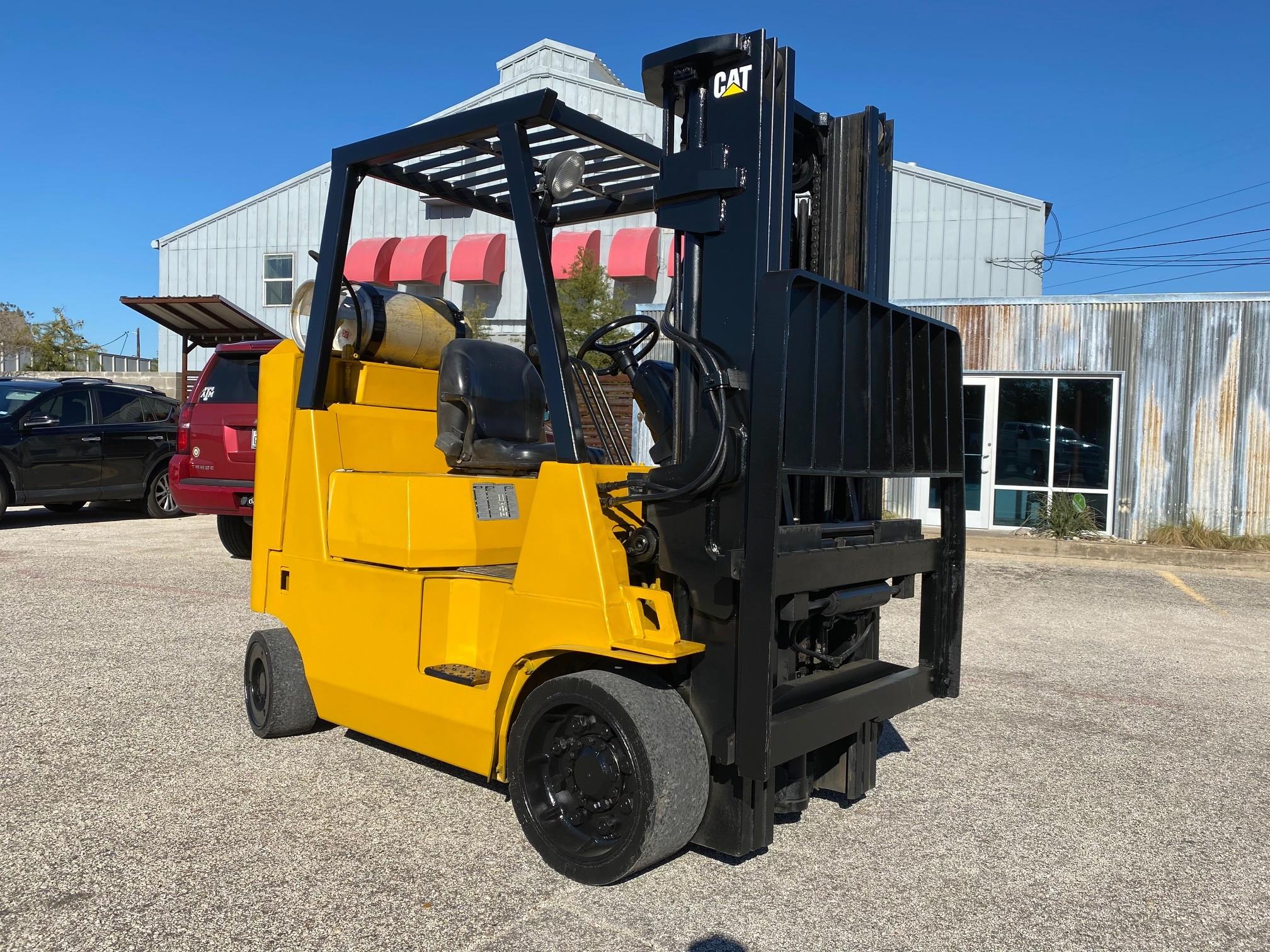 Used, 2006, CAT Lift Trucks, FGC40KS, Forklifts / Lift Trucks