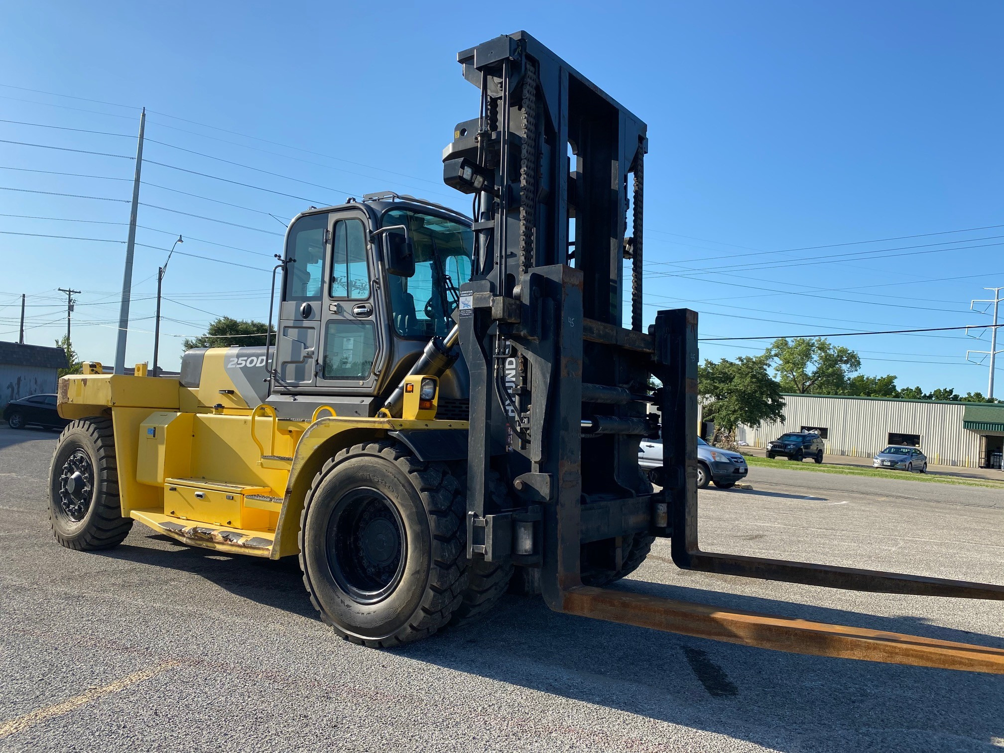 Used, 2016, Hyundai, 250D-9, Forklifts / Lift Trucks