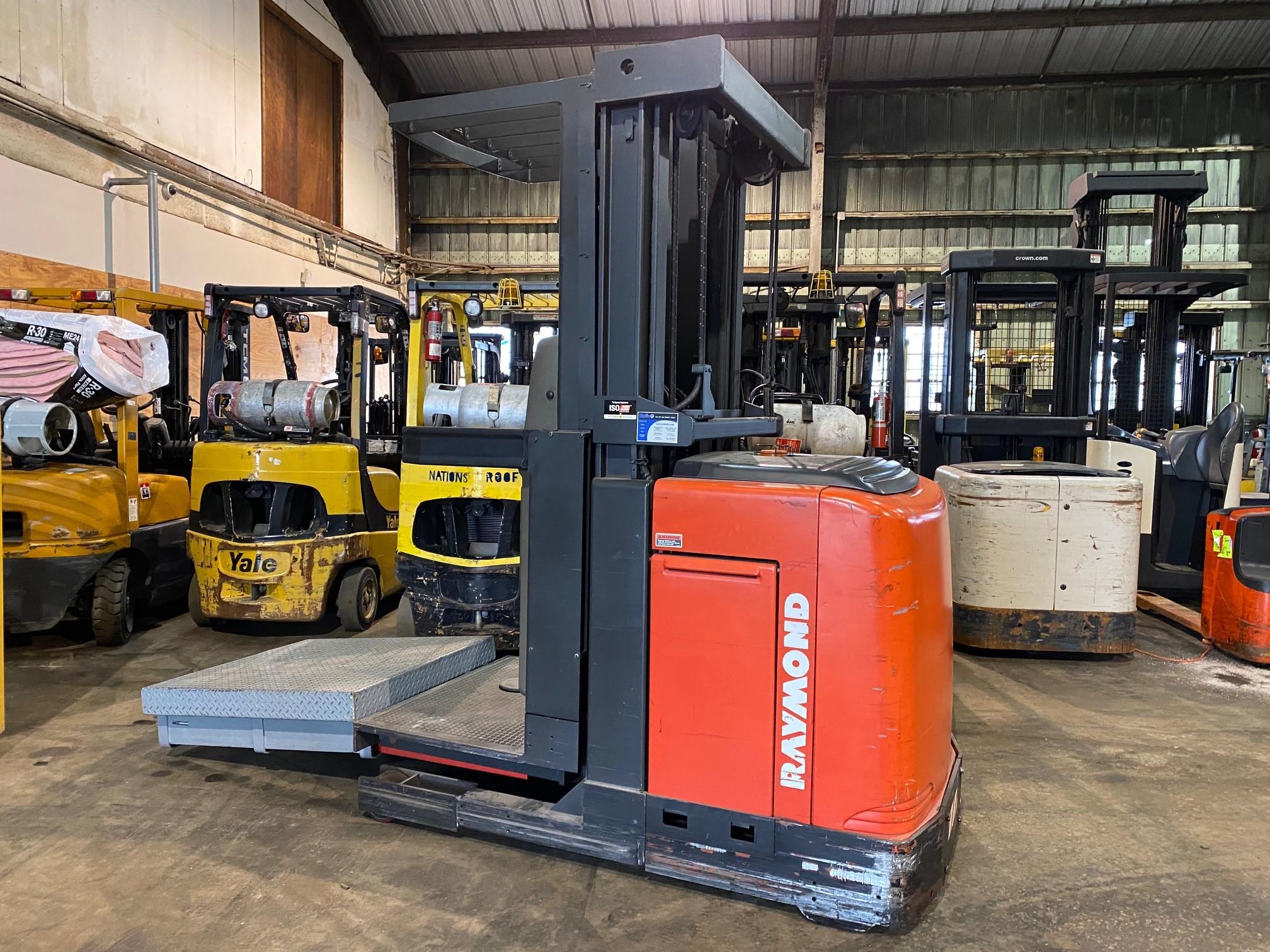 Used, 2004, Raymond, EASI OPC30TT, Forklifts / Lift Trucks