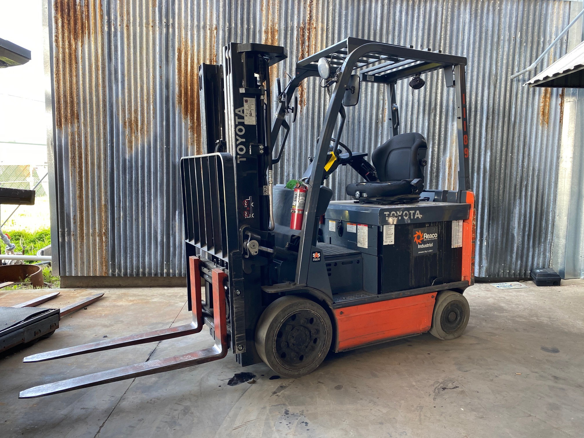 Used, 2016, Toyota Industrial Equipment, 8FBCHU25, Forklifts / Lift Trucks