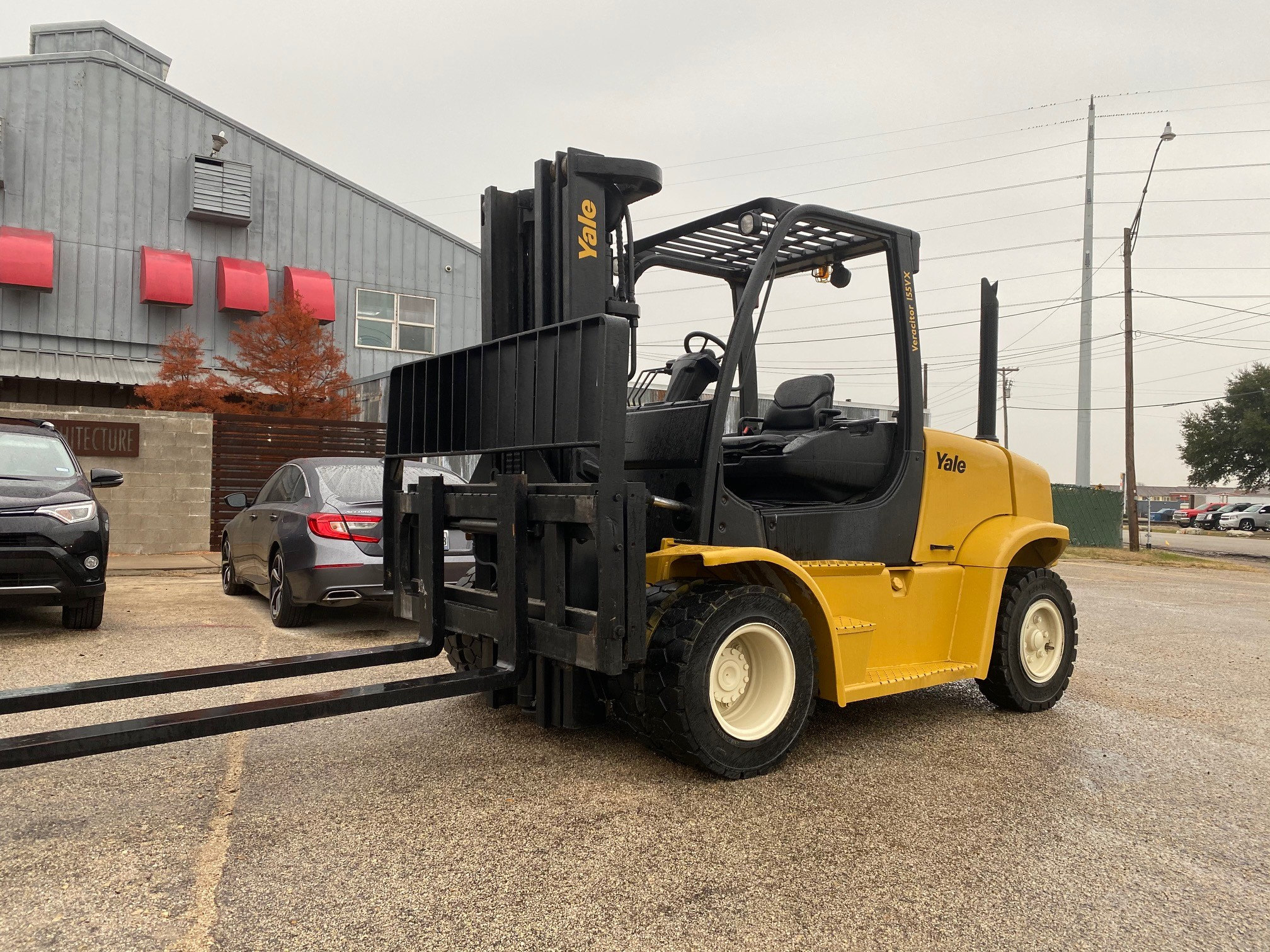 Used, 2011, Yale, GDP155VXNCBE102, Forklifts / Lift Trucks