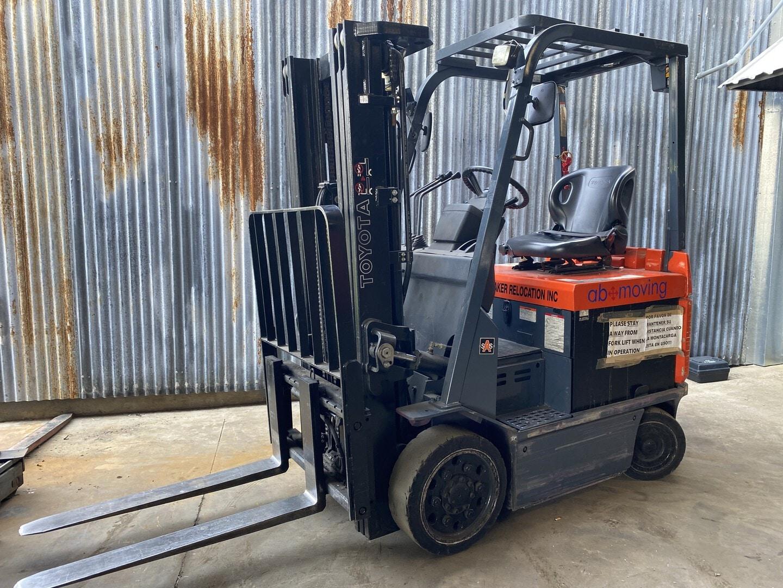 Used, 2006, Toyota Industrial Equipment, 7FBCU25, Forklifts / Lift Trucks