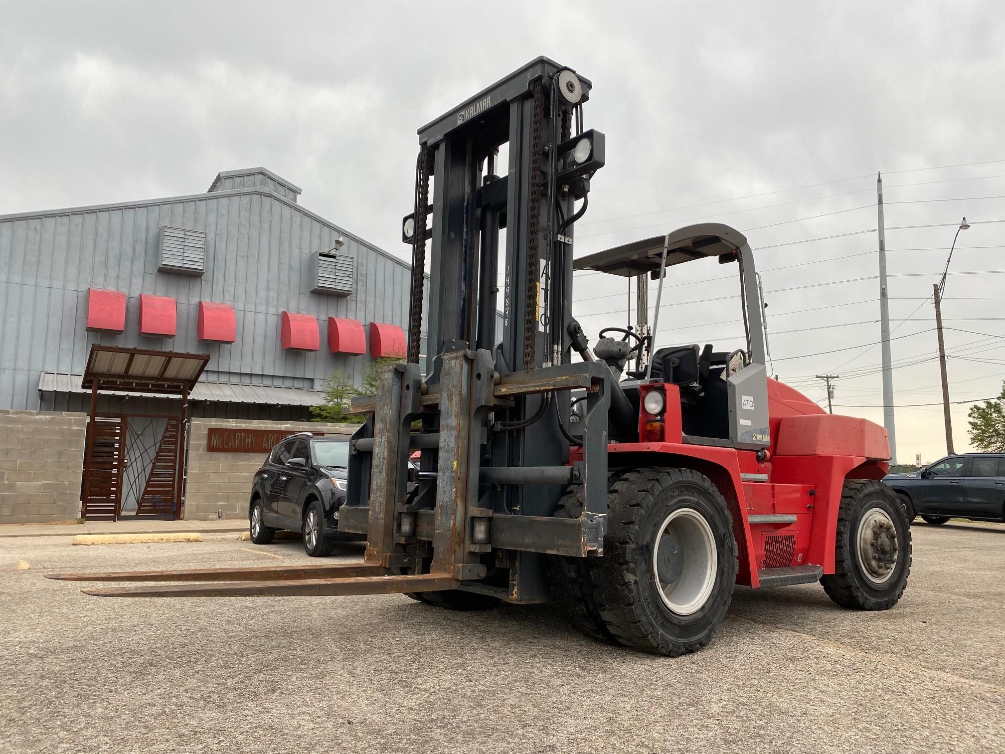 Used, 2014, Kalmar, DCE90-6, Forklifts / Lift Trucks