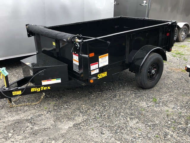New, 2020, Big Tex Trailers, 50SR-08-5WDD, Dump Trailers