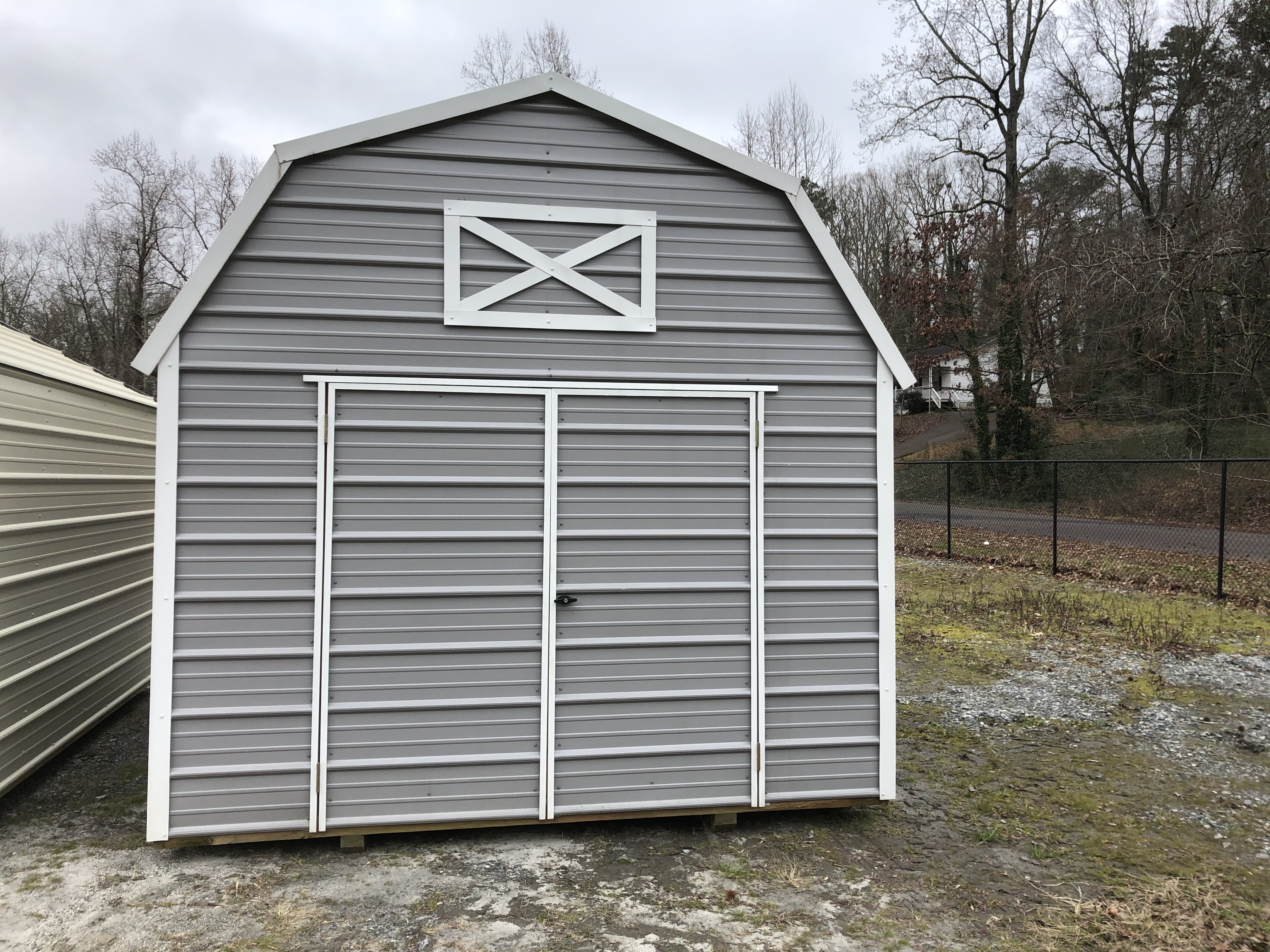 Used, 2020, Backyard Outfitters, 10 X 12 METAL LOFTED BARN, Other