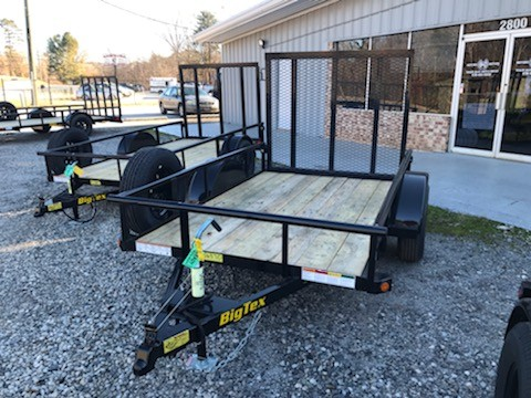 New, 2021, Big Tex Trailers, 30SA-08, Utility Trailers