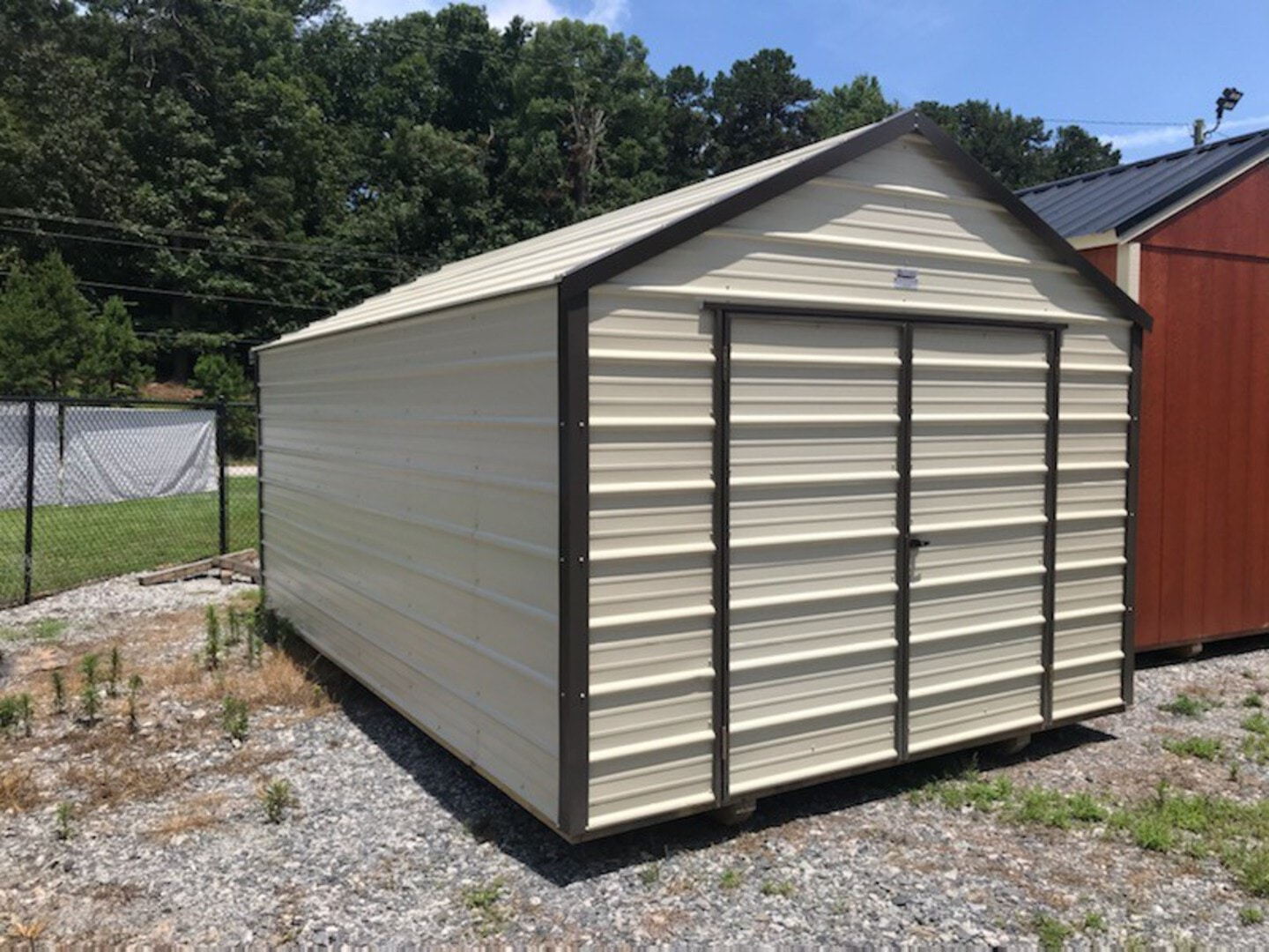 New, 0, Backyard Outfitters, 10X16 METAL UTILITY, Other