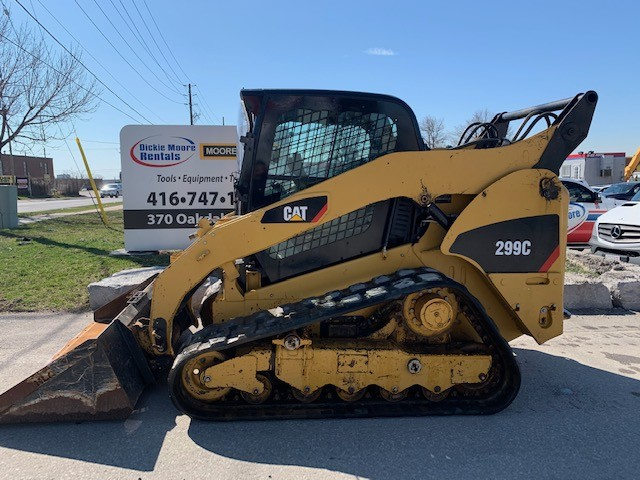 Used, 2010, CAT, 299C, Skid Steers