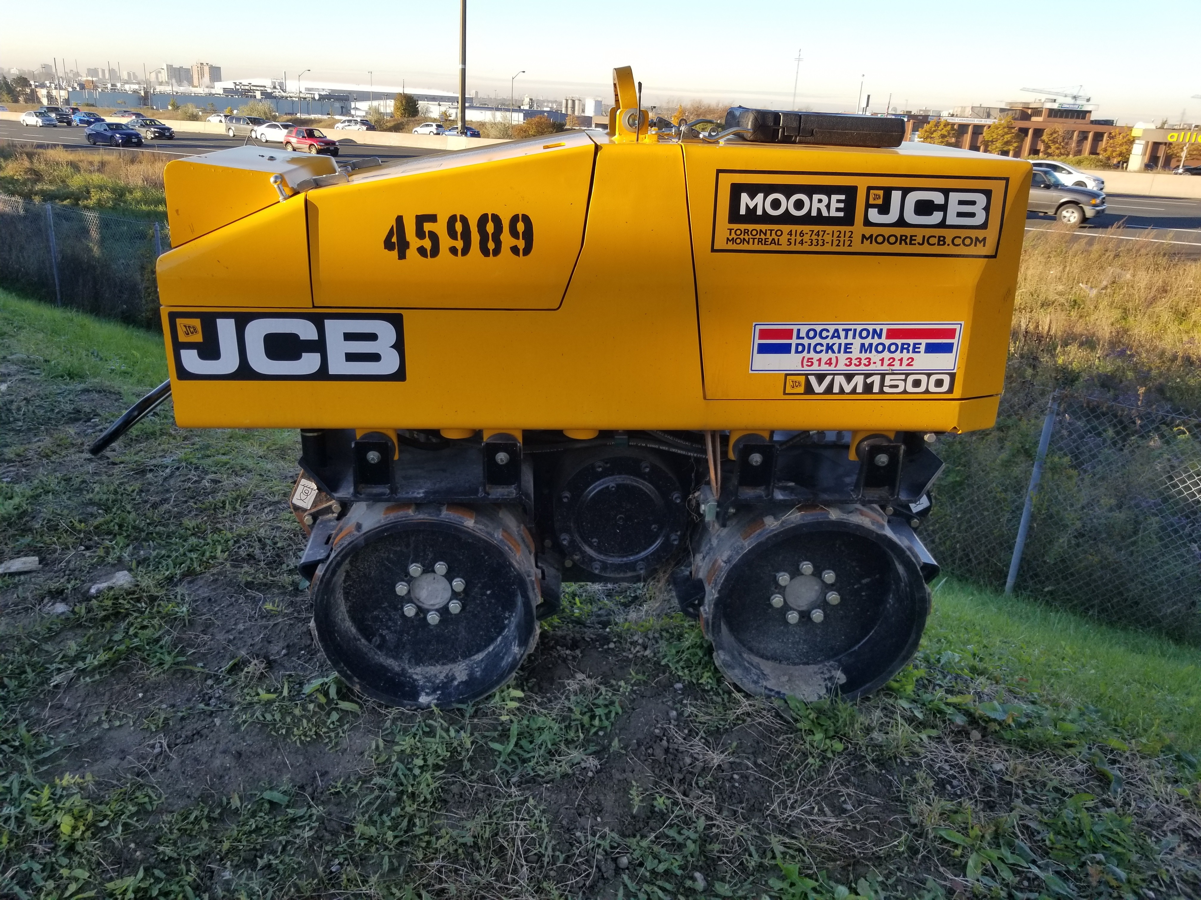 Used, 2015, JCB, VM 1500F, Compactors
