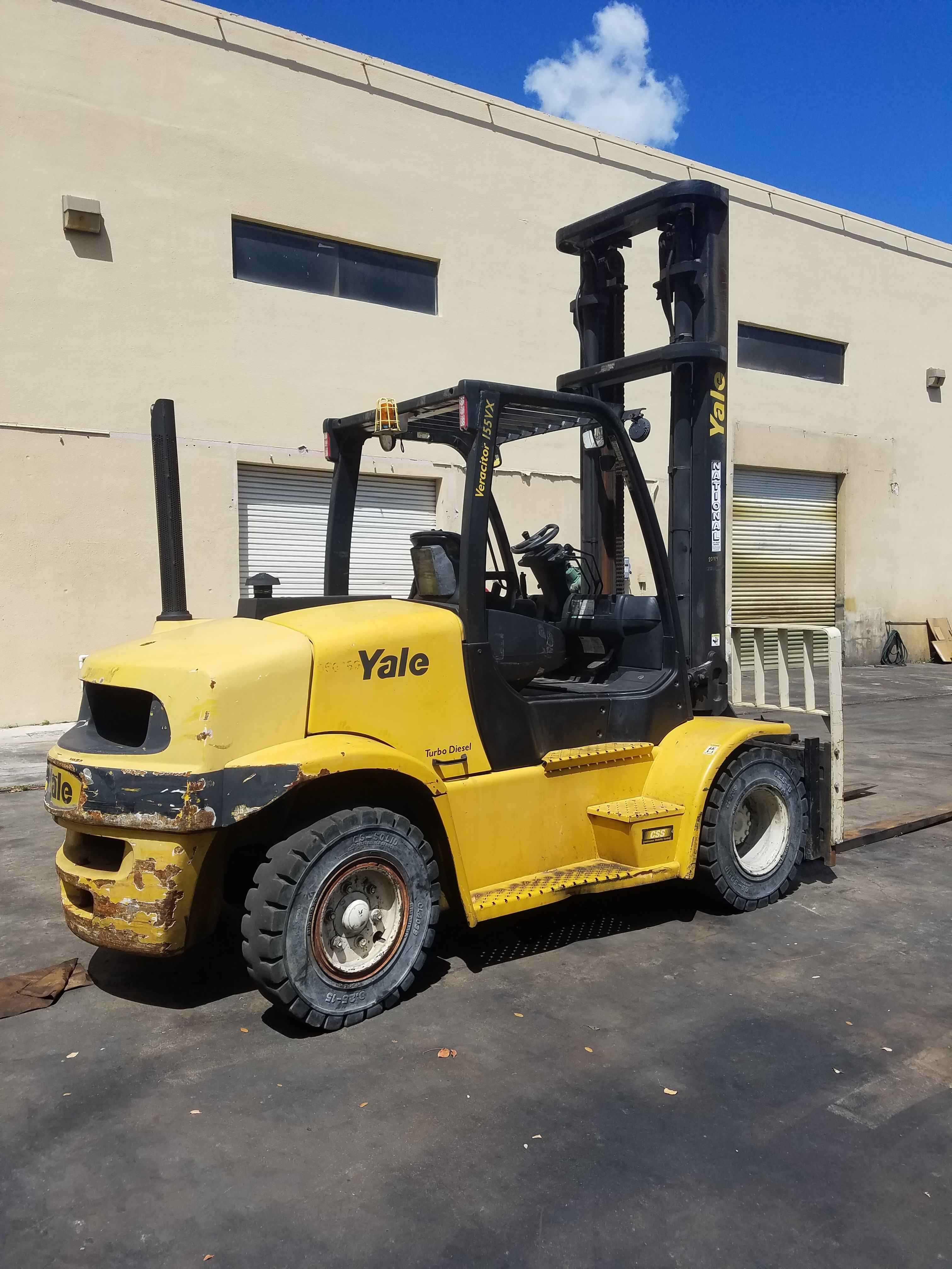 Used, 2012, Yale, GDP155VX, Forklifts / Lift Trucks