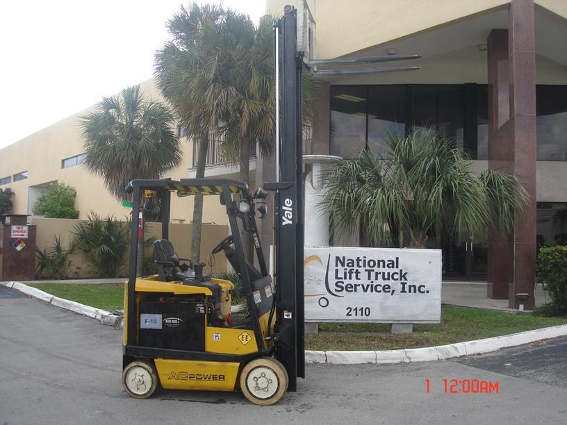 Used, 2009, Yale, ERC030AH, Forklifts / Lift Trucks