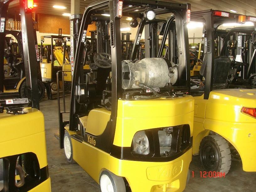 Used, 2007, Yale, GLC030VXNUSE082, Forklifts / Lift Trucks