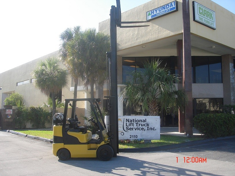 Used, 2015, Hyundai, 25LC-7A, Forklifts / Lift Trucks