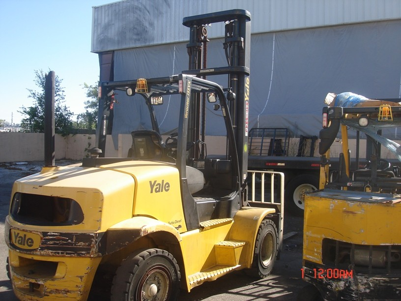 Used, 2014, Yale, GDP155VX, Forklifts / Lift Trucks
