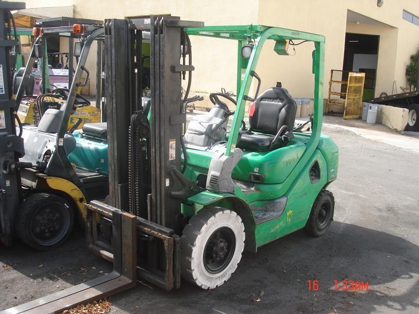 Used, 2008, Komatsu,  FG25T-16, Forklifts / Lift Trucks