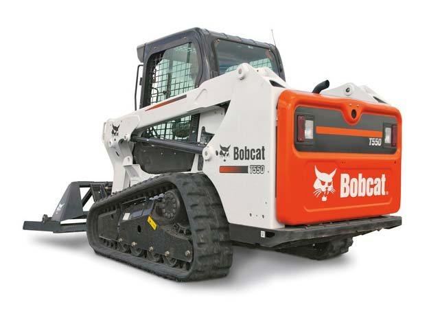 2017, Bobcat, T550, Loaders